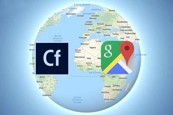 ColdFusion Google Maps Javascript