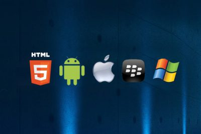 HTML5 Smartphone Icons ColdFusion Website