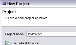 Naming a project