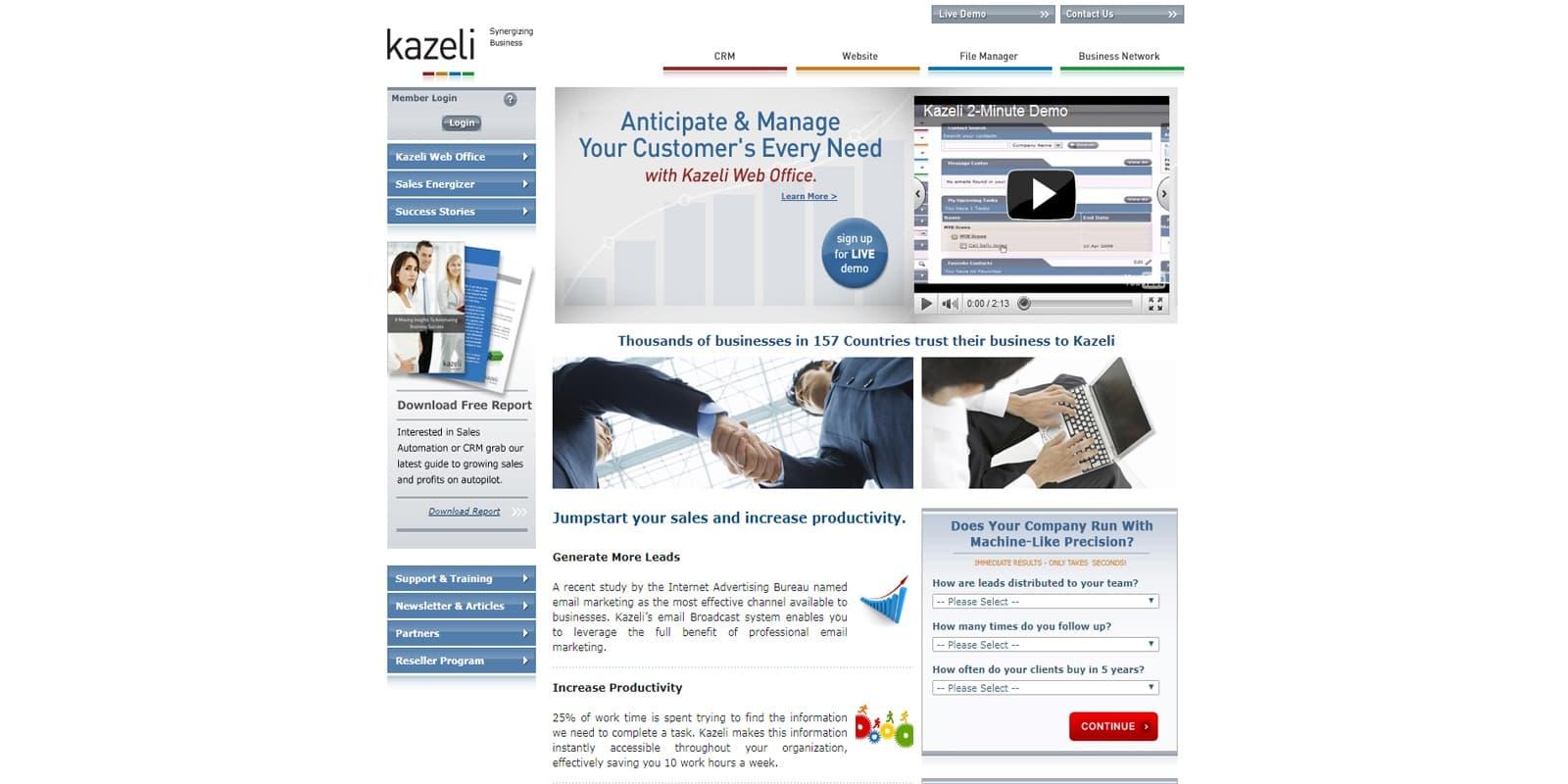 Kazali